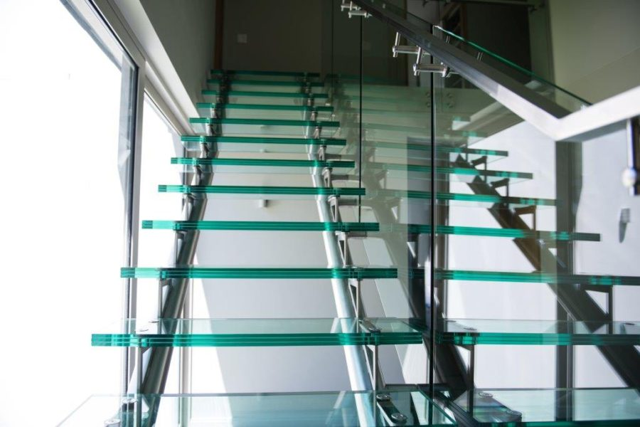 Glass Tread Staircase